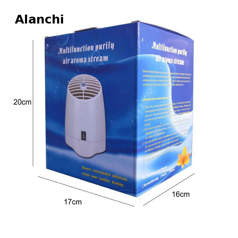 Bureau à domicile Purificateur D'air Ioniseur + ozone Portable Concentrateur D'oxygène Purificador De Ar Avec Arôme Diffuseur