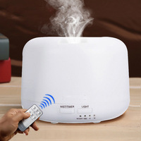 New Remote Control 300ML Ultrasonic Air Aroma Humidifier With 7 Color Lights Electric Aromatherapy Essential Oil