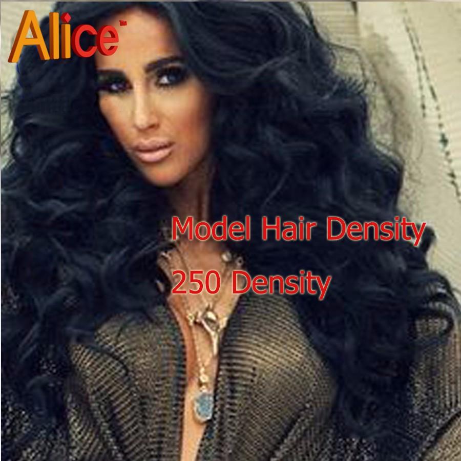 250% density human hair