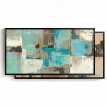 Hand painted canvas oil paintings Abstract Modern Home Decoration Painting Wall Art Picture for living room 6 color