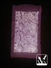 Yansıtıcı tübüler bandana. Ücretsiz kargo
