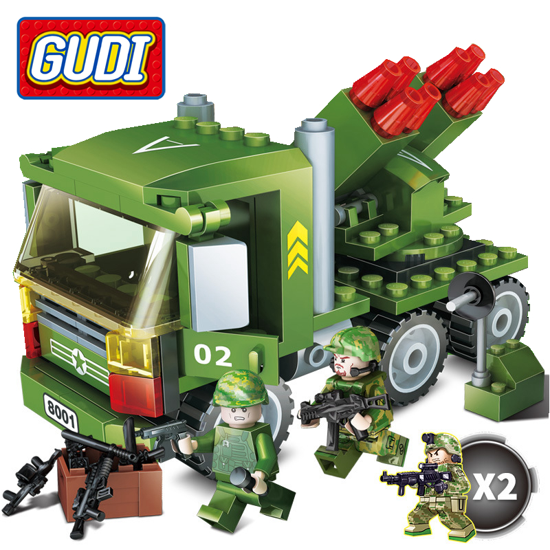 Beautiful Gudi Legoing Military Series 8018 Firewire Storm Missile 141pcs Building Blocks Toys For Children Compatible With Legoings Model Building Toys & Hobbies