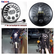 TNOOG 70W LED 7″ Motorcycle  Projector Daymaker Headlight LED Light For Harley