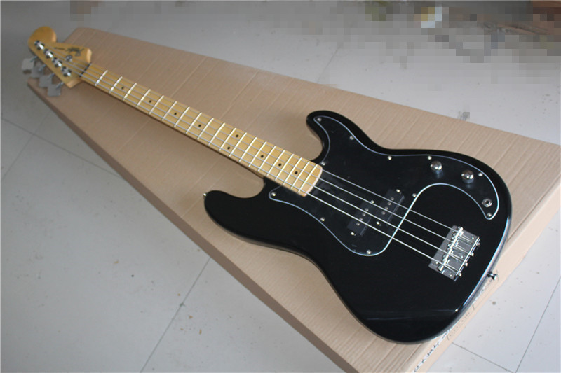 precision bass four string electric bass black body guard maple fingerboard in guitar from. Black Bedroom Furniture Sets. Home Design Ideas