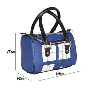 Image 5 - Таинственный доктор сумочка Доктора Кто сумка TARDIS мини сумка и искусственная сумка через плечо женская сумка мессенджер
