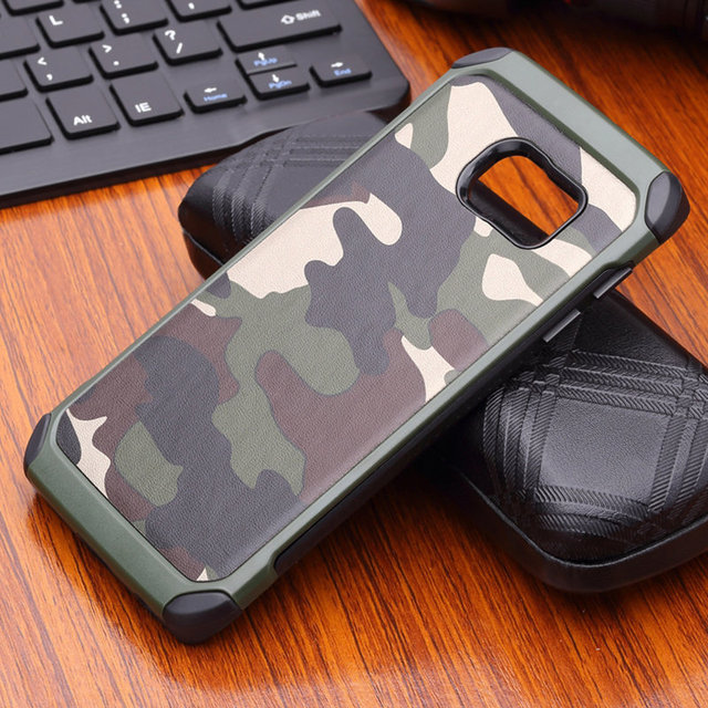 best loved 1f8db 48dae US $4.74 5% OFF|LEPHEE For Samsung Galaxy S6 Edge Case Silicon Army Camo  Camouflage For 3D Luxury Samsung Galaxy S6 Silicone TPU Shockproof Case-in  ...