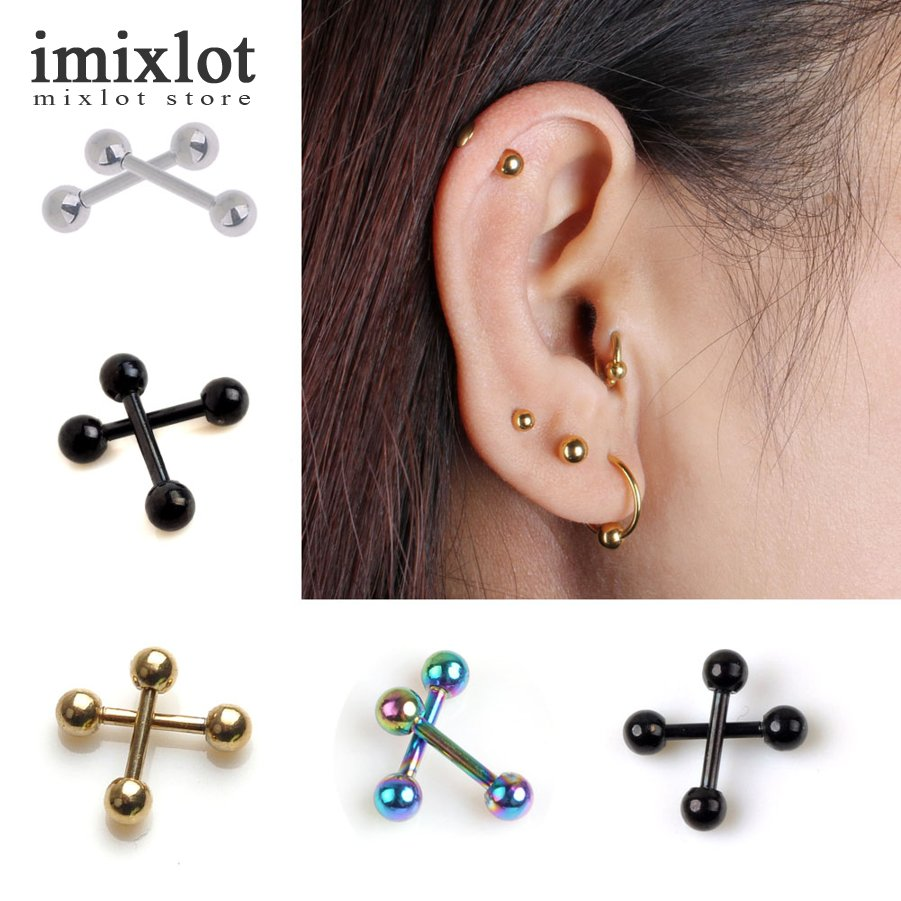 Hard-Working Ear Cuff Helix Cartilage Ear Ring Fake Clip On Cuff Wrap Upper Closure Ring 2pcs Comfortable Feel Jewelry Sets & More Body Jewelry