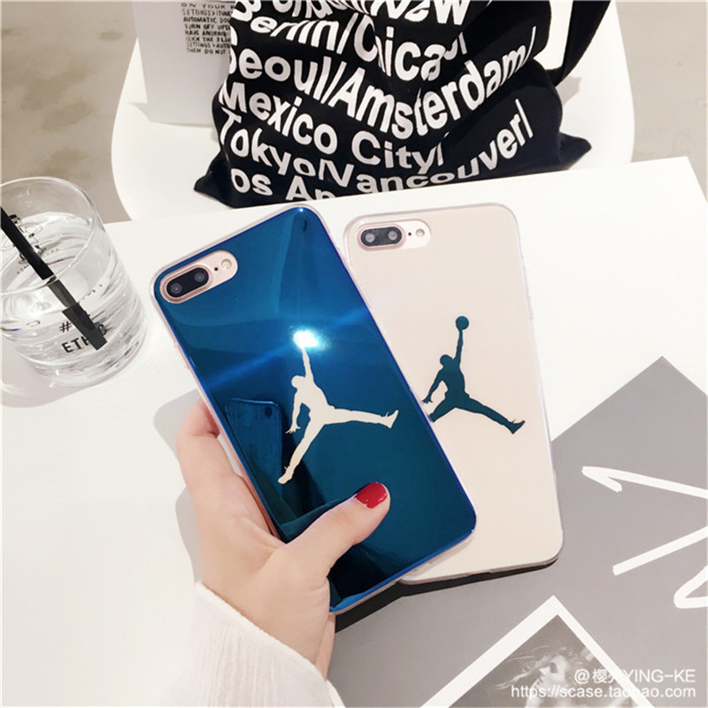 Basketball Phone Case For iPhone 6 7 8 6S Plus X Silicone Protection Cover Smooth TPU Glitter Cases Coque Funda Sports Athletics