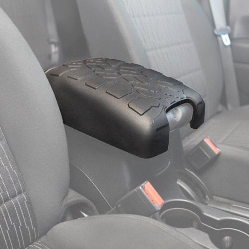 JeCar Gear Shift Panel /& Armrest Box Lock Decoration Cover Trim Car Interior Accessories for Jeep Wrangler JK Rubicon Sahara Unlimited 2011-2017 Silver