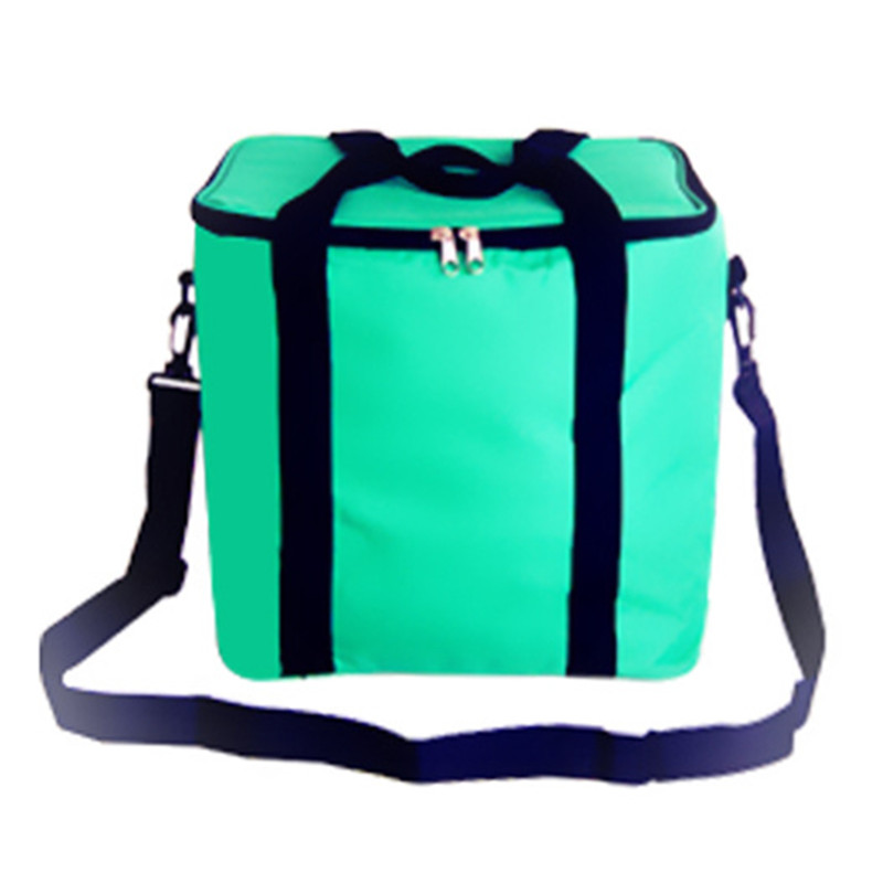Oxford cloth waterproof high Thickening Cooler bag ice pack Insulated lunch pizza bags fresh food Container shoulder handbag