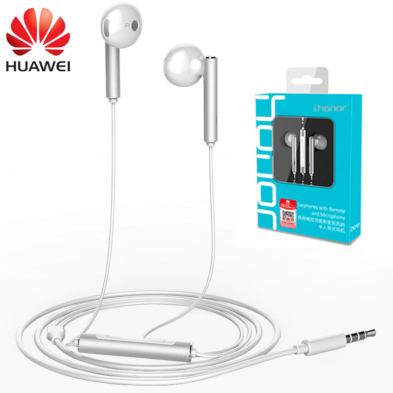 Original Huawei Honor AM116 Earphone 3.5mm In-Ear Headset AM116 Earbuds with Microphone for PC Huawei P8 Lite P10 Android Phone
