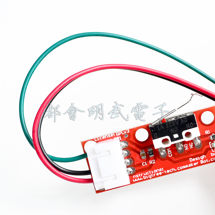 3D printer Endstop mechanical limit switch RAMPS 1.4 with independent packaging endstop mechanical limit switch ramps 1 4 3 d printer using modules