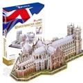 145 UNIDS Westminster Abbey 2016 Nuevo Modelo de Ensamblaje de Rompecabezas 3D Rompecabezas DIY Juego De Construcción Arquitectura regalo Creativo Para Niños Juguetes Para Niños