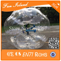 Free Shipping 1.5M TPU Zorb Ball Bubble Soccer Bumper Football Inflatable Bumper Balls for Family Gather Together