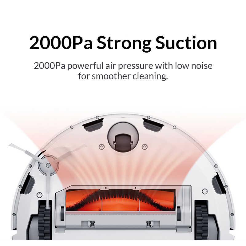 Оригинальный Xiaomi Mi робот пылесос 1S для дома автоматическая подметальная зарядка умный планируемый wifi приложение пульт дистанционного управления пылеочиститель