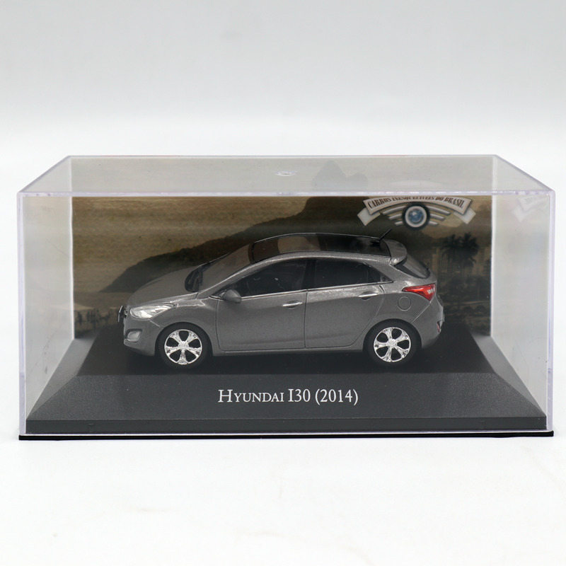 цена на IXO Altaya 1:43 Hyundai I30 2014 Diecast Toys car Models Limited Edition Collection
