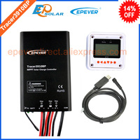 MPPT power bank charger solar regulator USB cable and MT50 accessories Tracer3910BP waterproof IP67 degree