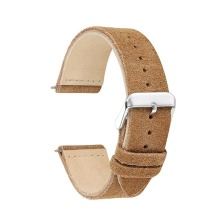 onthelevel 18mm 20mm 22mm watch strap suede leather genuine watchband  #C
