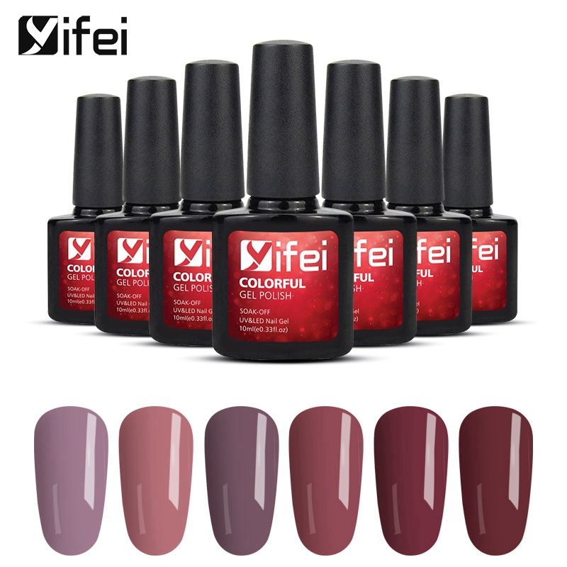 Yifei 10ml Gel 3d Nail Design Red Bean Paste Colors Summer Color