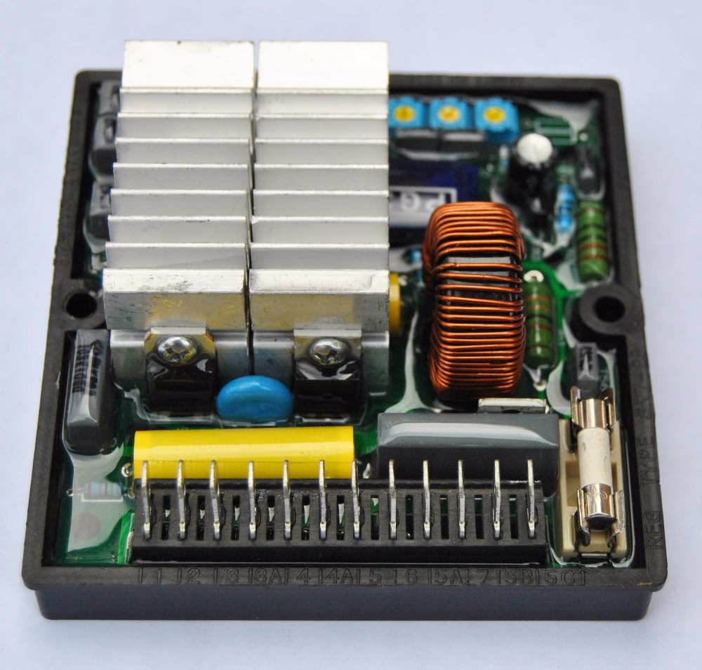 Automatic Voltage Regulator AVR SR7 For Mecc Alte Generator SR7-2G баскетбольный мяч adidas x35859