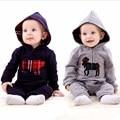 1pic 100% Хлопок Baby Rompers Победитель Новорожденных С Длинным Рукавом Комбинезон для Новорожденных Bebe Мальчик И Девочка Одежды