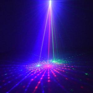 Image 3 - Outdoor Christmas Lights RGB Laser Projector Motion 32 Patterns Holiday Festoon Lantern Light New Years Garland Decor