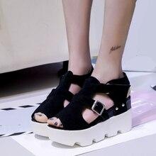 Platform Sandals Shoes Women SUMMER STYLE High Heel Casual O