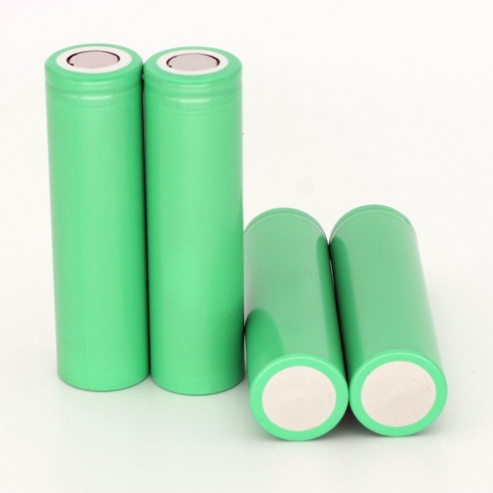 4PCS INR18650-25R li-ion battery 2500mah for samsung rechargeable 35A discharge rate e-cigarette high drain vape image