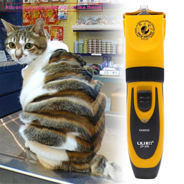ac77d866151 Professional LILI 35W Electric Pet Hair Clipper Rechargeable Shaver Cat Dog  Hair Trimmer Grooming Machine Styling Carved Cutter