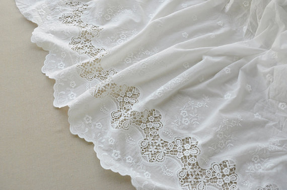 off white cotton lace fabric, embroidered cotton lace fabric, bridal lace fabric, wedding tablecloth, runners, hot selling1 yrdoff white cotton lace fabric, embroidered cotton lace fabric, bridal lace fabric, wedding tablecloth, runners, hot selling1 yrd