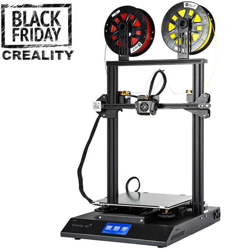 2019 New CREALITY 3D CR X 3D Printer Dual Color Optional