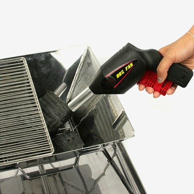 Portatile Arbecue All'aperto Ventilatore Barbecue Strumento Mano Presse Manuale