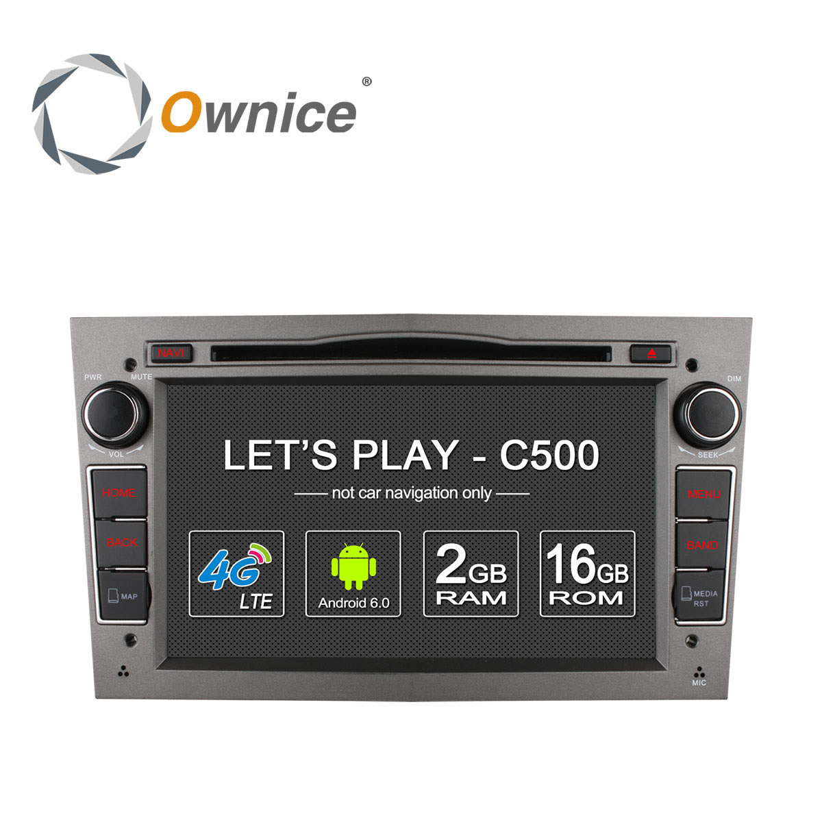 ownice c500 android 6 0 4 core 2g ram car dvd gps 2 din for vauxhall opel astra h g j vectra. Black Bedroom Furniture Sets. Home Design Ideas
