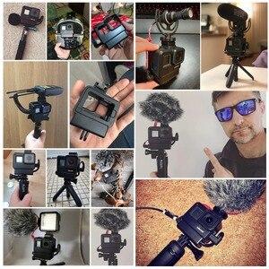 Image 3 - Ulanzi V2 V2 Pro Vlog Custodia per Gopro V3 V3 Pro Vlogging Gabbia Telaio Borsette con Il Mic Scarpa Freddo montaggio per Gopro Hero 7 6 5