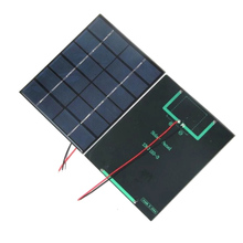 Solar-Panel-Module with Cable Diy-System for Battery 2pcs Polycrystalline 2W 6V