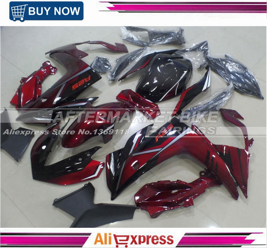 New Arrival Red And Black YZF R25 15 16 Fairings For Yamaha R3 2015 2016 Bodywork Cowling Free Shipping 2014 2015 2016 yzf r3 r25 abs injection fairing kit for yamaha yzfr3 yzfr25 pearl white complete fairings body kit cowling