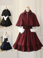 Gothic Lolita Dress Cross Regression Victorian Vintage SK Lolita Skirt