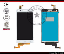 Lcd für huawei ascend g6-u10 lcd display + touch screen + digitizer glas (schwarz, weiß) mit logo