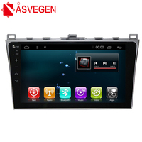 Asvegen 10.2'' Quad Core Android 6.0 Car Auto Stereo Multimedia Radio Player With GPS Navigation System For Mazda 6 Summit 2009