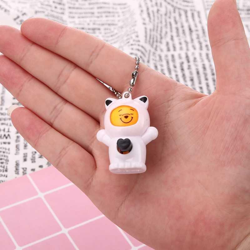 Mudando Rosto Expressões Boneca Engraçado Crianças Brinquedos para Crianças Novidade Magia Brinquedo Antistress Chaveiro Bonito Pingente de Presentes de Natal