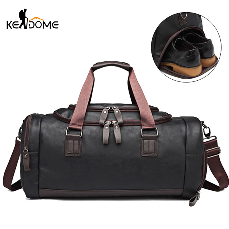 Men Fitness Gym Bag Travel Sport Training Handbag for Women Shoulder Corssbody Bags Dry And Wet
