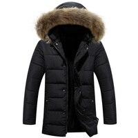 New 2015 Winter Jacket Men Warm Down Jacket Casual Parka Men Padded Winter Jacket Casual Handsome