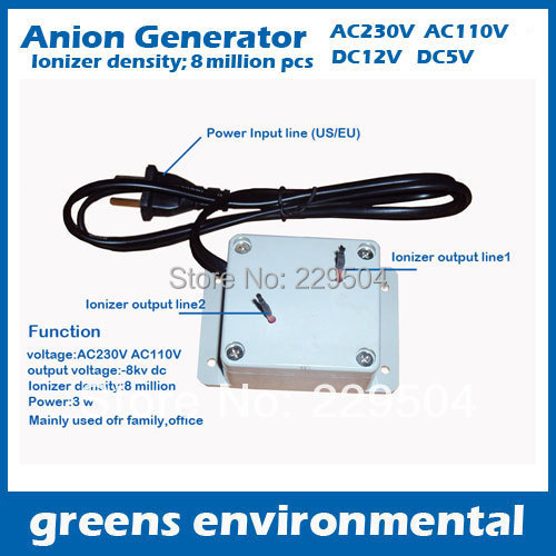 Anion Air Purifier Product ~ Aliexpress buy air purifier parts negative ion
