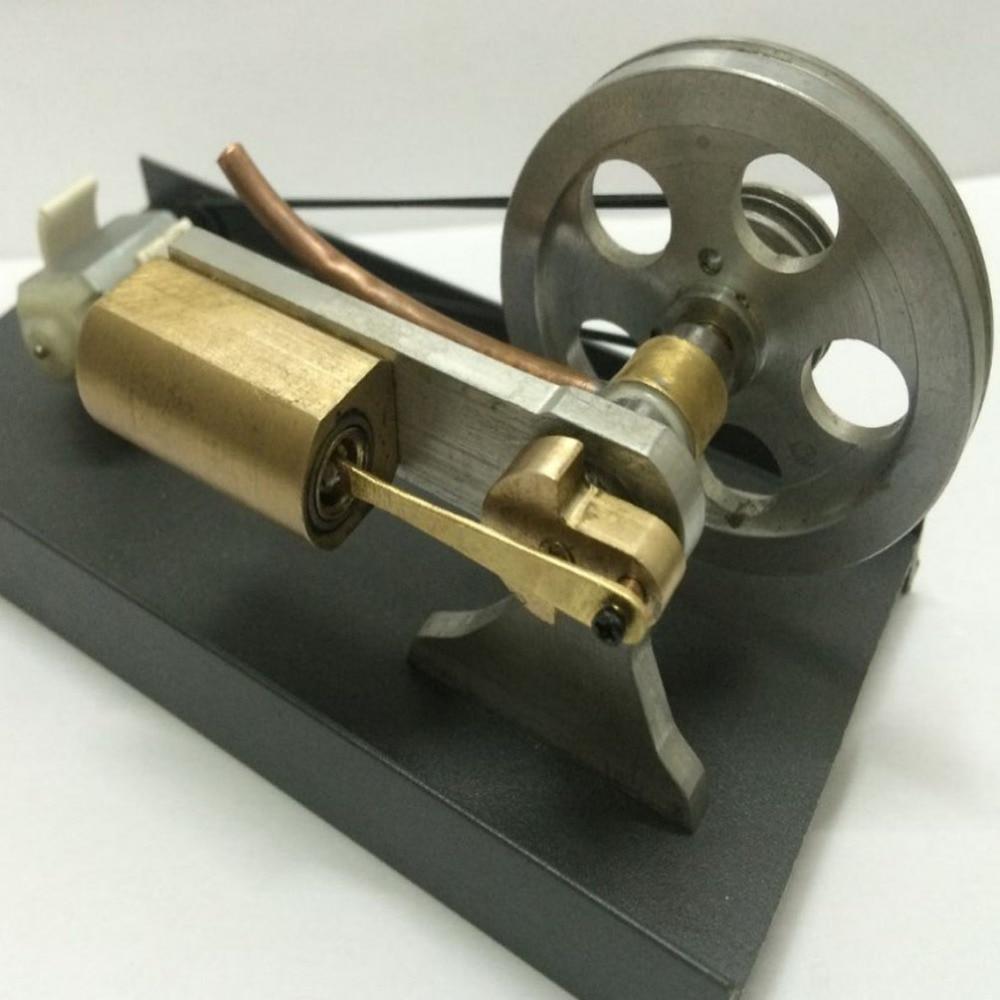 Shaft ventilation steam engine model