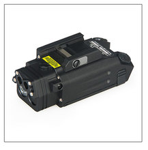 New Arrival DBAL PL Flashlight with Red Laser and IR Illuminator T6 MIL SPEC Type III
