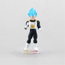 6Pcs Set Dragon Ball Z Super Saiyan Son Goku Action Figure Toys