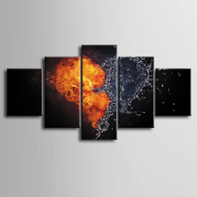 Wholesale 5 pieces / set of Abstract love series poster series wall art for wall decorating home Decorative painting on canvas wall iowa bicent series