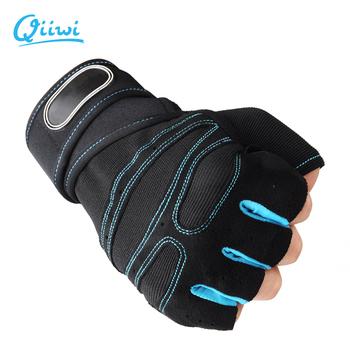 Rękawiczki do ćwiczeń wagi ciężkiej do ćwiczeń sportowych rękawice do podnoszenia ciężarów kulturystyki sport treningowy rękawice gimnastyczne M-XL rozmiar tanie i dobre opinie Podnoszenie ciężarów rękawice Dr Qiiwi SP0A011
