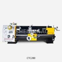 CTC280 Multifunctionele Industriële Grade Draaibank Machine Kleine Draaibank Machine Tool Desktop Metalen Gewone Draaibank Machine 220 V 1 PC