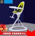 Детская мода простой складной стул многофункциональный портативный детский стульчик обеденный стол